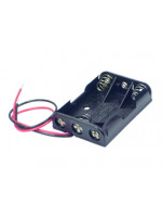 Battery Holder with Leads for 3 x AA batteries