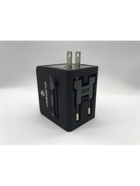 International series Travel Adaptor with 2 USB charge ports