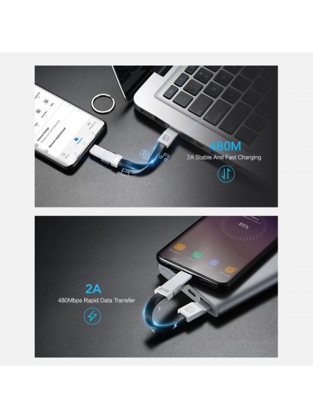 keychain phone Charger cable 20 cm for Micro USB