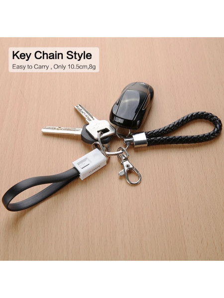 keychain phone Charger cable 20 cm for I Phone