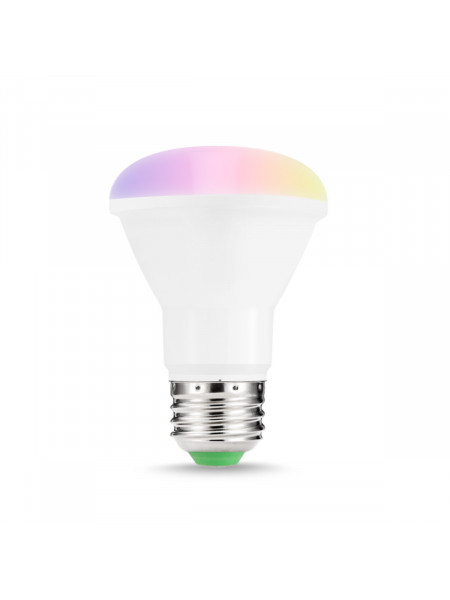 A Smart home -  Large Colour Changing LED WiFi enabled Spot Bulb