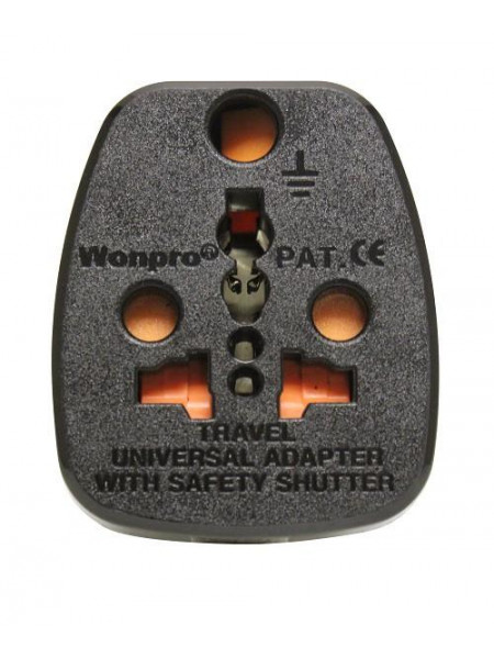 Travel Adaptor Wonpro SA to Australia for SA 2 and 3 pin
